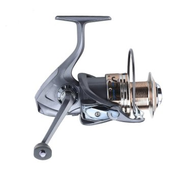 AL Spool Spinning Reel LA12-5000 Coffee and Sliver Fishing Reel with 8+1 Ball Bearings(INTL)