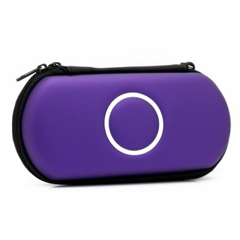 Elenxs Hard Carry Case Cover Protector for Sony Psp 2000 3000 (Purple) (Intl)