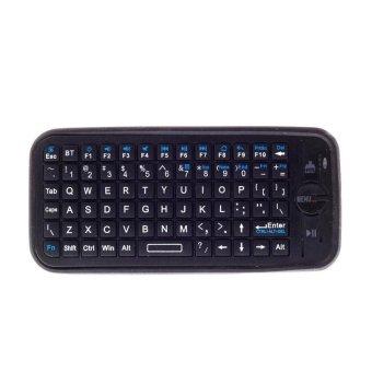 iPazzPort Case for Apple TV Remote Control Mini Wireless keyboard TV Remote Control (Black)