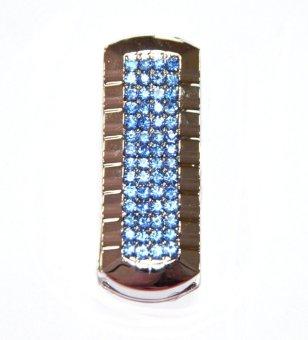 Fbsctech 8g Blue Crystal Rotation 8gb Usb 2.0 Flash Drive Memory Stick- Intl