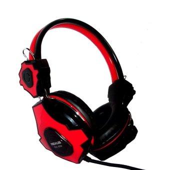 Rexus RX-999 Headset Gaming - Merah/Hitam