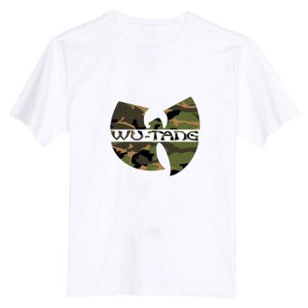 WU TANG CLAN Camo Soldier 100% Cotton O Neck Camiseta Unisex Short Sleeve T Shirt (Intl)