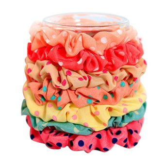 Fang Fang Women ElasticPrint Style Hair Band (Colorful) - Intl