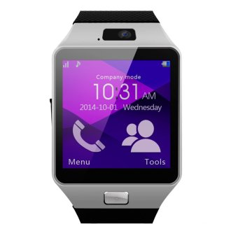Bluetooth Smart Wrist Watch SIM Phone Mate for iPhone IOS Android Samsung HTC - Intl