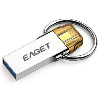 EAGET 16GB USB3.0 OTG Phone U Disk (Gold) (Intl)
