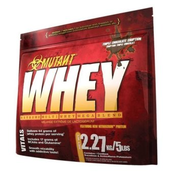 Mutant Whey 5lb Rasa Cokelat