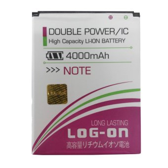Log On Baterai Double Power Xiaomi Redmi Note 4000mAh terpercaya