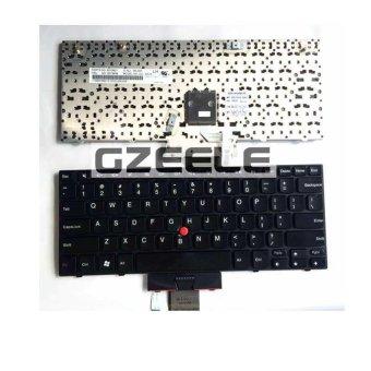 100% New Keyboard FOR LENOVO Thinkpad X100E X120 X120E X100 E10 E11 US laptop keyboard No border BLACK - INTL