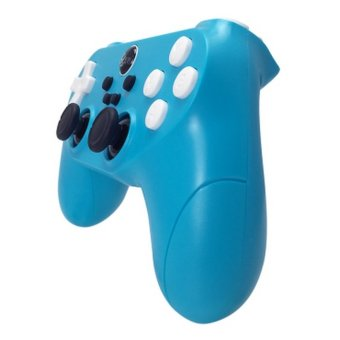 Wireless Vibration Gamepad For PC/PS3/Android Mobile Phones(Blue) (Intl)