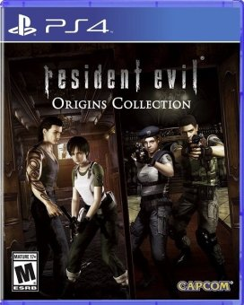 Sony PS4 Resident Evil Origins Collection
