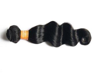 Indian Loose Deep 100% Human Hair Weave-18 inch - Intl