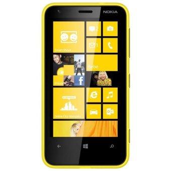 Nokia Lumia 620 Resmi - Yellow