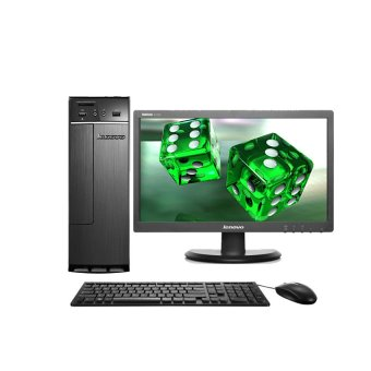 Lenovo PC 300s-081HH-1YID - Intel Core G3260 - 2GB RAM - DOS - Hitam