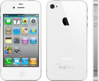 Refurbished Apple iPhone 4 - 32GB - Putih