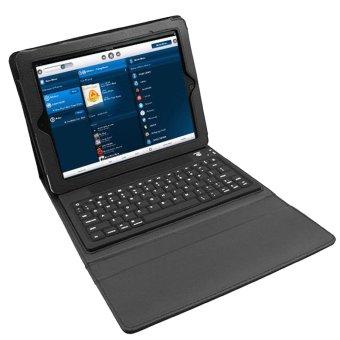 Nai Si Shi Ji HT-P2013 Bluetooth Keyboard with Holster foripad2/3 (Intl)