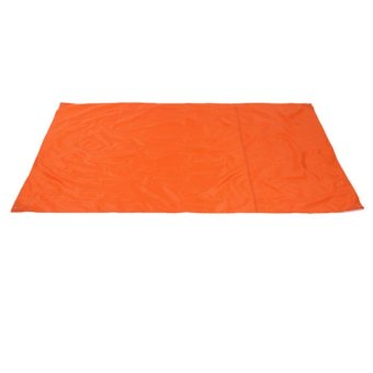 Waterproof Cloth Oxford Cloth Dampproof Mat Picnic Mat Outdoor Camping Tent Orange
