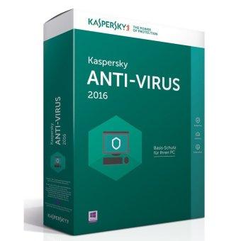 Kaspersky Antivirus - 1 User 2016