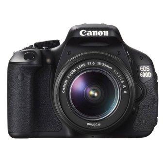 harga Canon EOS 600D Digital Camera Kit 18-55mm IS II Lens Kiss x5 Lazada.co.id