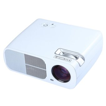 BL-20 HD LED Projector Cinema Theater 2600 Lumens 2000:1, 800x480 Resolution(White) dual HDMI dual USB (Intl)