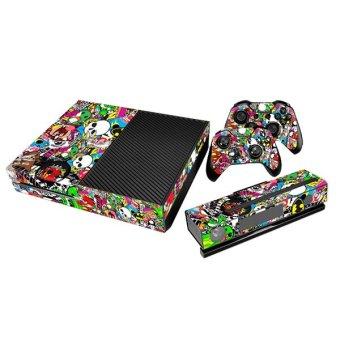 Aukey Full Sticker for Xbox One Console (Multicolor)