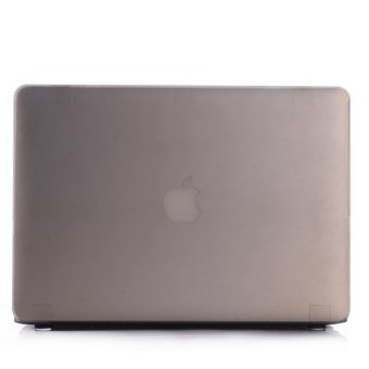 Laptop Shell Plastic Cover for Apple Macbook 15 Pro Retina Grey - Intl
