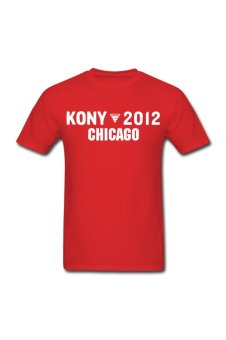 Men's Kony 2012 Personalize T-Shirt for red - Intl