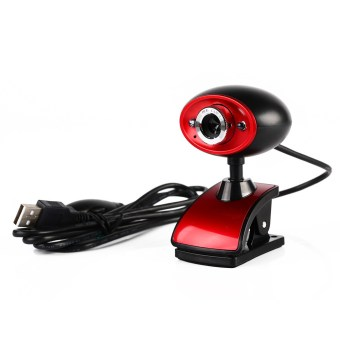 USB 16MP HD Webcam Camera with MIC for Computer PC Laptop (Black) - intl