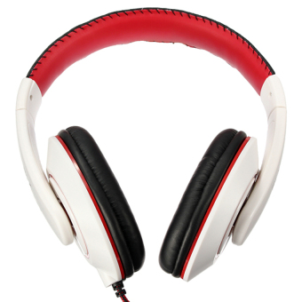 S & F Stereo Headphone with Mic White - Intl