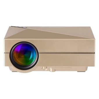 Mini LED Projector 800x480 Resolution Multimedia mini LED projector Portable Home Theater Projector (Intl)