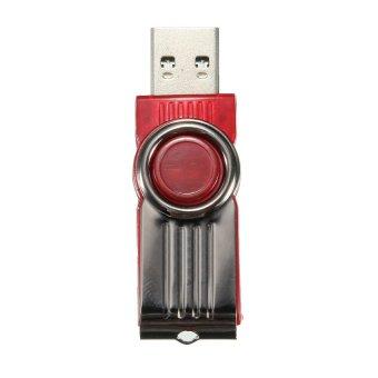 UJS 16GB USB3.0 Swivel Flash Memory Stick Pen Drive Storage Thumb D Disk Red (Intl)