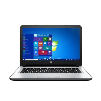 "HP 14-ac140TX - Intel Core i3-5005 - 4GB RAM - VGA - Windows 10 - 14"" - Putih"