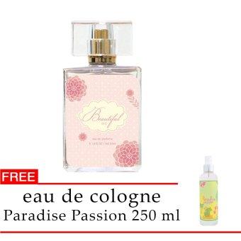Senswell EDP Magnifiscent Beautiful Me 50 ml FREE EDC Paradise Passion 250 Ml