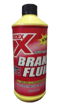 Redex DOT 3 Brake Fluid - Minyak Rem Neutral Bening 1 Liter