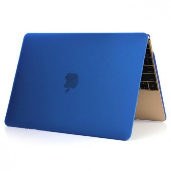 Matte Laptop Cover Case For Apple MacBook Pro 15.4 Inch Protective shell(Blue) - Intl