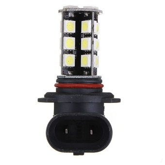 2pcs/lot 9005 HB3 5050 SMD 27 LED Cool White Error Free Car Auto DRL Driving Fog Light Lamp Bulb 540LM DC12V(INTL)