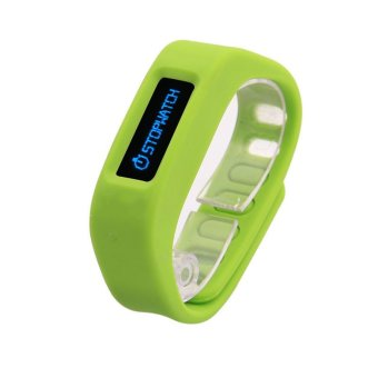 OLED Bluetooth 2.1 EDR Smart Bracelet Sport Watch with Pedometer / Sleep Monitoring / Calorie Burns for Andorid (Green)