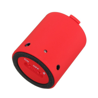 Audew Mini Portable Wireless Bluetooth Handsfree Speakers for Phone PC Lactop Player Red(INTL)