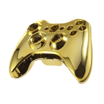CHEER Wireless Controller Case Shell Cover For XBox 360 Plating Gold Accessories Gold (Intl)