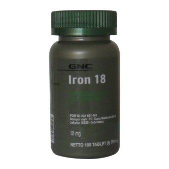 GNC Iron - 100 Tablet