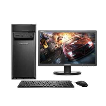 Lenovo PC IdeaCentre 300-20ISH-0AID - Intel Core i7-6700 - 4GB RAM - DOS - Hitam