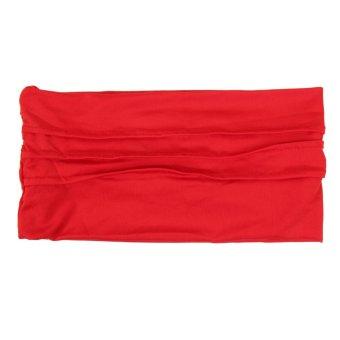 Fashion Pregnant Fold Hair Band (red) - INTL
