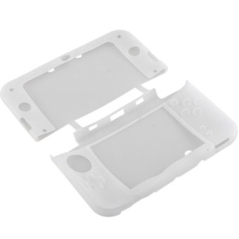 S & F Silicone Gel Protector Case For Nintendo 3DS XL LL (White) - Intl
