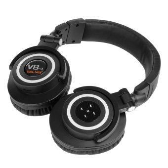 OVLENG V8-3 90°Foldable Super Bass Wireless Bluetooth 4.0 Games Headphone for iphone/ipad/Samsung Galaxy -(Black) (Intl)
