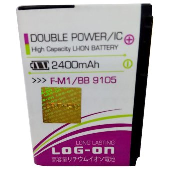 Log On Battery F-M1 For Blackberry 9105/9100/9670 terpercaya