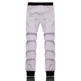 Fashion Men Leisure Sports Personality Printing Pants- Intl