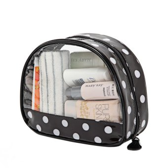 PVC Travel Clear Cosmetic Organizers - Intl