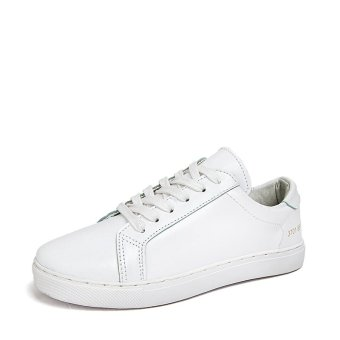 Breathable men running shoes couple shoes female sports shoes white shoes pcl413h-white-35 - Intl
