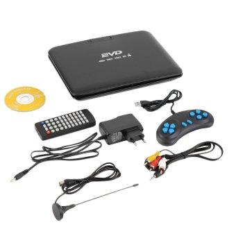 CHEER 9.8 inch Portable DVD EVD Player TV VCD CD MP3/4 SD USB GAME Mobile TV EU Plug (Intl)