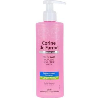 Corine de Farme Gentle Rose Water 200 Ml - Pembersih Make Up, Cleanser, Pembersih Wajah