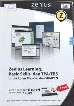 Zenius Learning CD SMA TPA dan TBS